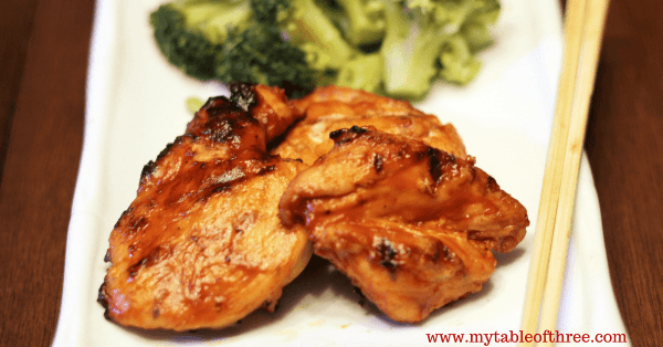 Asian Inspired BBQ Chicken is a great summer grilling option that is low carb and Gluten Free