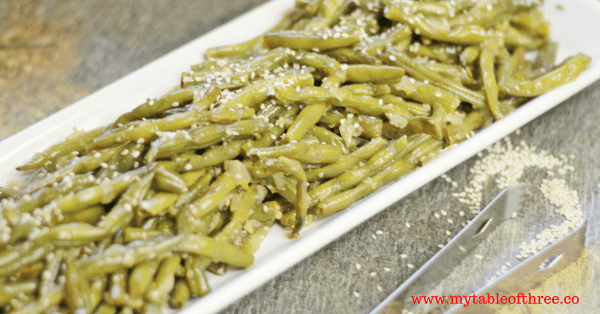 A low carb and gluten free version of the Asian Green Beans found on many buffets.