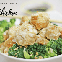 Coconut Chicken || Low Carb, Gluten Free, THM, Asian Inspired Recipe