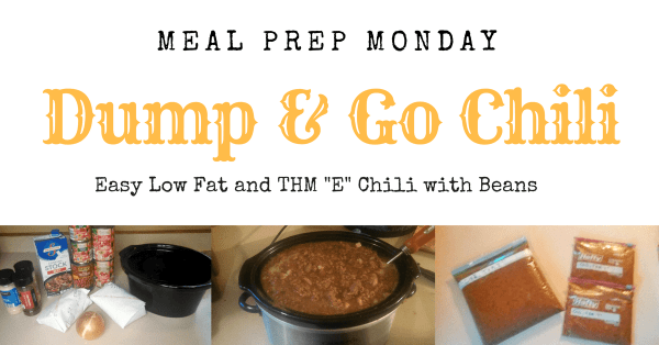"""Easy Low Fat Chili Meal Prep Recipe 