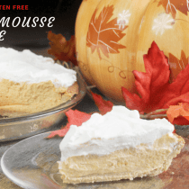 Pumpkin Mousse Pie || Low Carb Pie Gluten Free, Trim Healthy Mama Pie