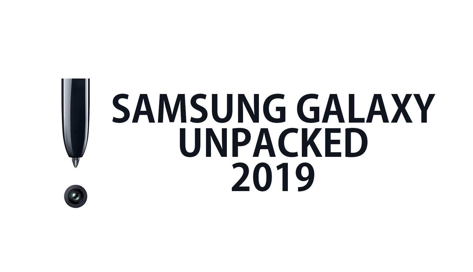 Samsung May Launch Galaxy Tab S6 and S5 at Galaxy Unpacked