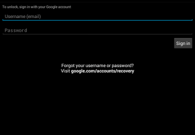 Google Account Recovery Reset Password