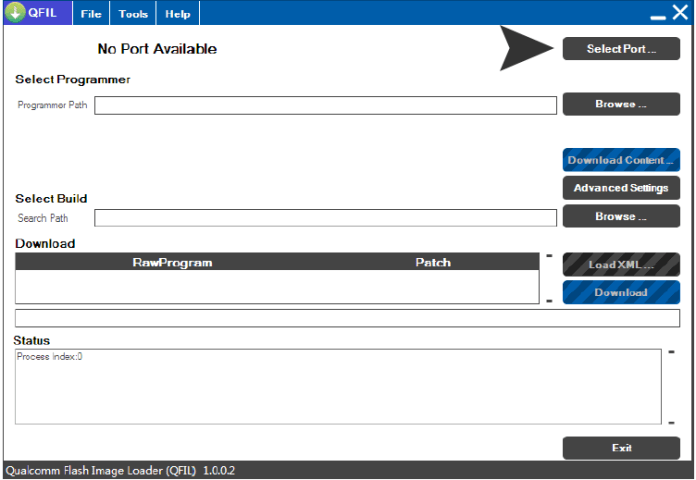 Select-port-Qualcomm