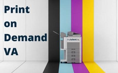 Virtuelle Assistenten für Print on Demand