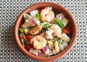 Fresh Seafood Salat
