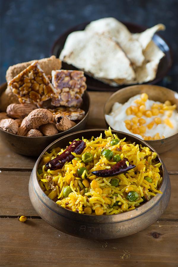 Punjabi Chane ki dal ki bhuni khichdi for makar sakranti