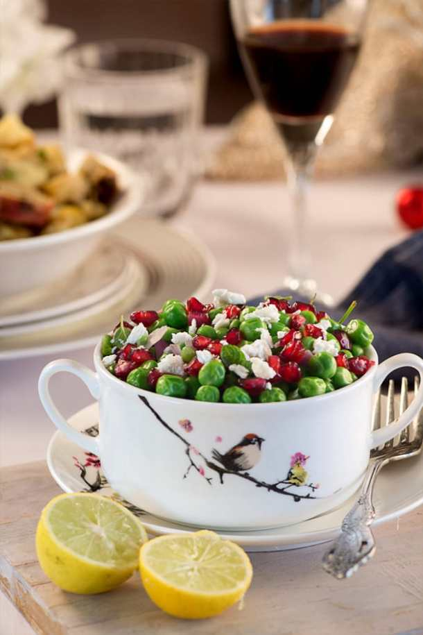 Peas and Feta salad
