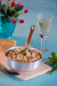 Sun Dried Tomato and Mushroom Risotto