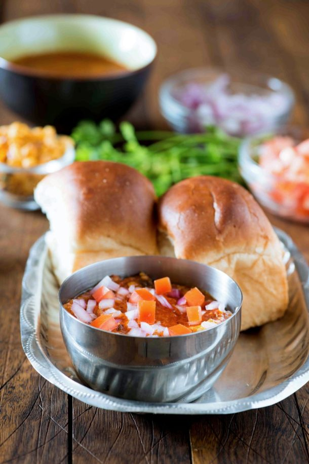 Hot and Spicy Kolhapuri Misal Pav recipe is just for you, if you love real spicy food. Misal pav is popular Maharashtrian breakfast as well as a Papular Maharashtrian street food