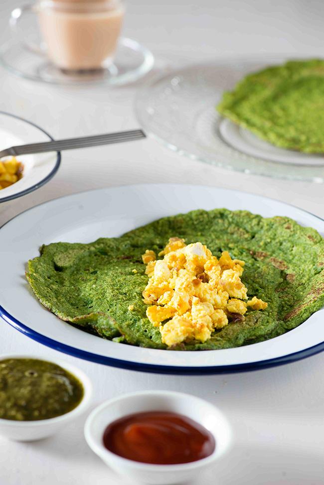 pesarattu Andhra breakfast