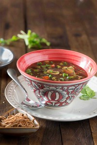 Hot n Sour Soup Recipe | Popular Indo-Chinese Soup Recipes