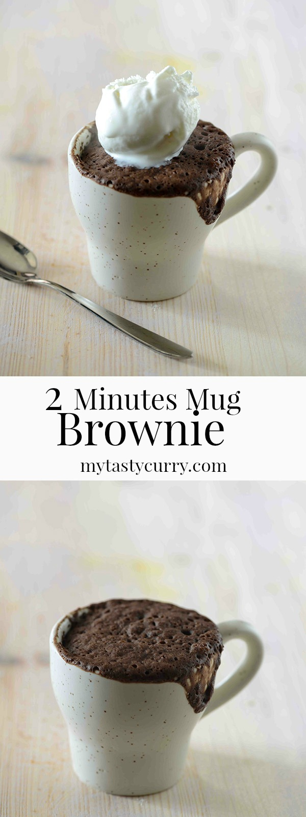 Microwave mug brownie recipe to satisfy your post meal sweet cravings in 2 minutes. Because when you are craving for dessert , you just don't have patience to bake an elaborate cake or cook any other dessert which takes too much time. This 2 minutes microwave mug brownie satisfies all your dessert cravings.