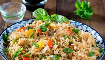 Vegetable fried rice recipe extra spicy veggie fried rice my schezwan fried rice fried rice recipe ccuart Gallery