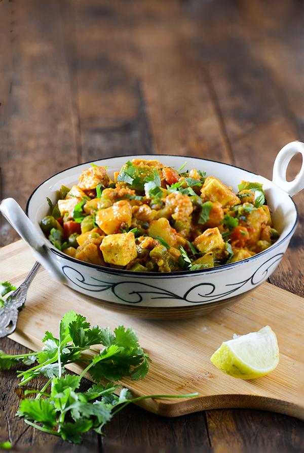 Mix Veg Sabzi Dhaba Style | Restaurant Style Mili Juli Sabzi