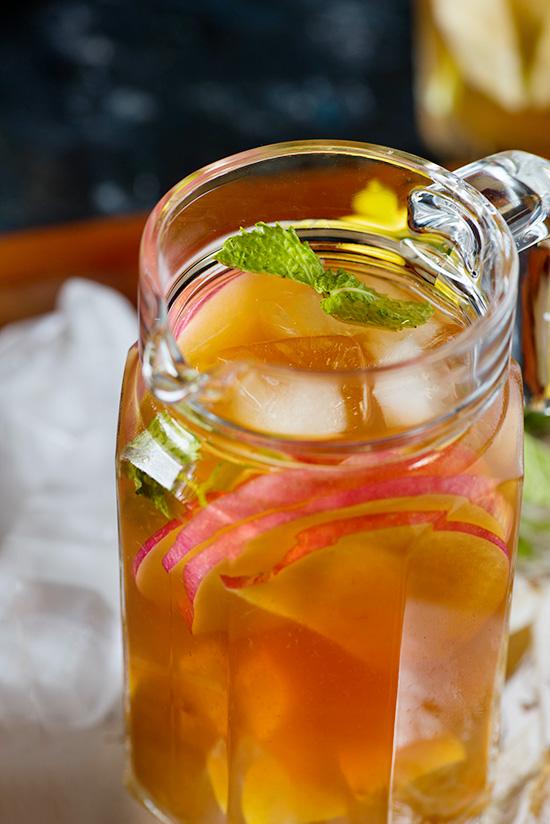 Apple Iced Tea Recipe Homemade Apple Iced Tea My Tasty