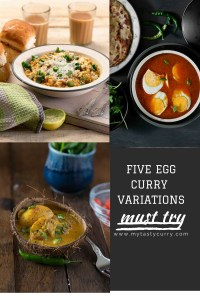 5 Best Egg Curry Recipes for egg lovers | Collection of Best Indian Egg Curry Recipes