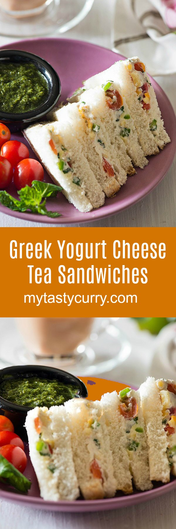 Delicious and easy Curd Sandwich recipe, with cheese and veggies in a flavorful seasoning. Curd Cheese and Veggie sandwich is a Perfect and easy sandwich for breakfast, high tea or to pack in a lunchbox.