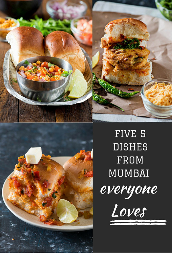 5 Pav Dishes from Mumbai Street Food Recipes that Mumbaikars Love