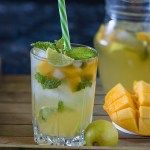 Mango and Ginger Mojito