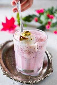 Rose Falooda Recipe – How to make Rose Falooda