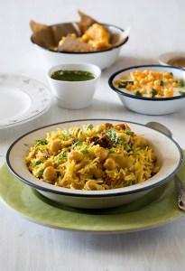 Chana Pulao Recipe – Kabuli Chana Pulao in Pressure Cooker
