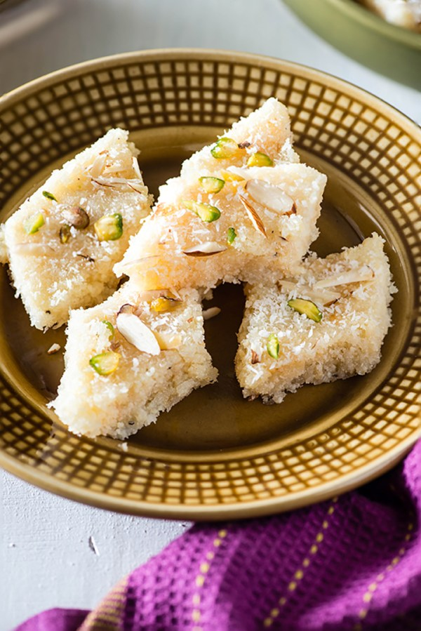 Coconut burfi recipe coconut burfi with milk powder my tasty curry coconut burfi is tasty traditional indian sweet that can be made in minutes traditionally coconut forumfinder Image collections