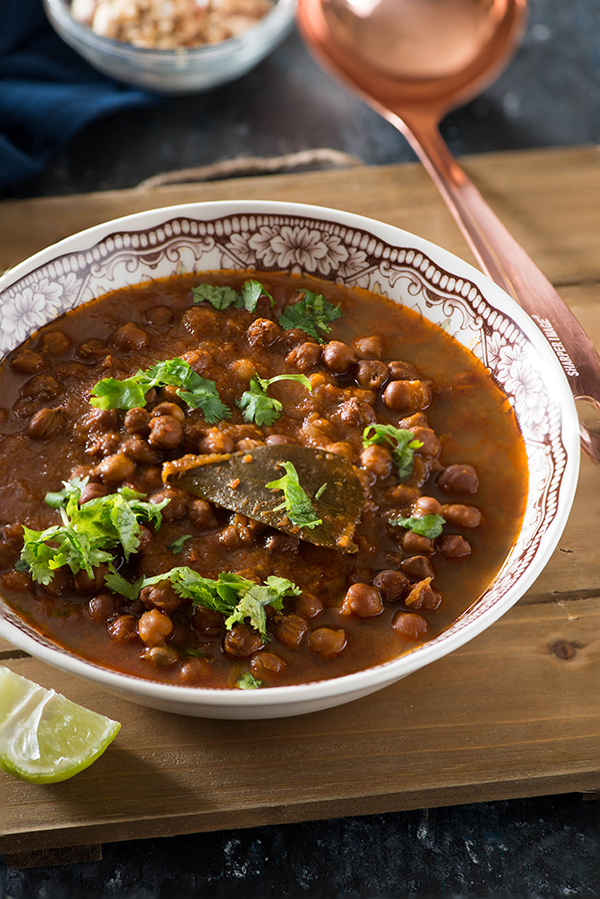Kala chana curry in instant pot