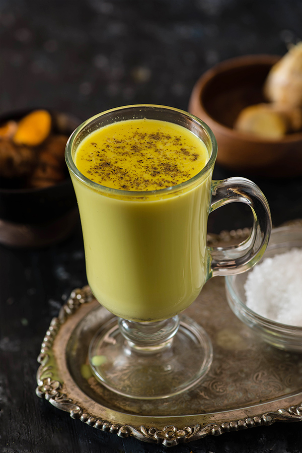 Haldi Doodh is a powerful combination of two ingredients milk and turmeric. known as Turmeric latte, Golden Milk Haldi doodh is a healthy drink for winters.