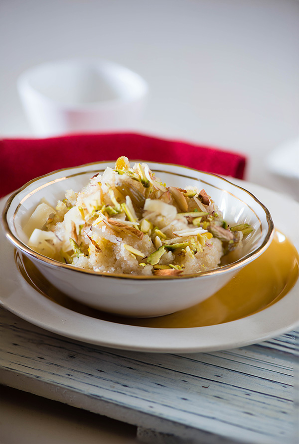 Sooji Halwa Microwave recipe
