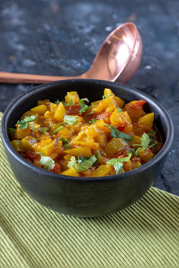 Lauki ki Sabzi or Ghia ki sabzi recipe