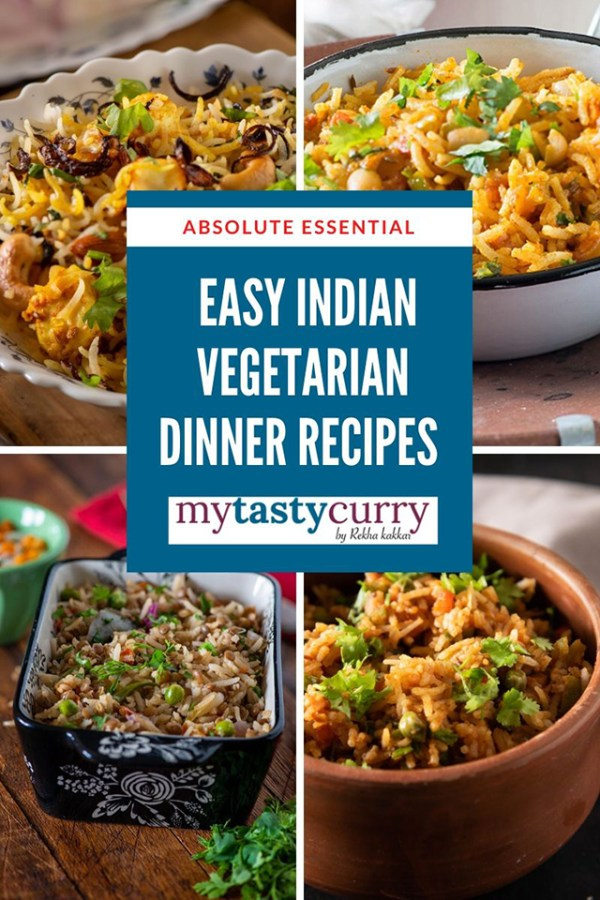 8 One Pot Vegetarian Indian Dinner Recipes My Tasty Curry