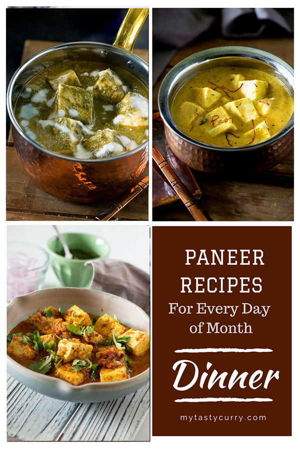 tasty paneer recipes