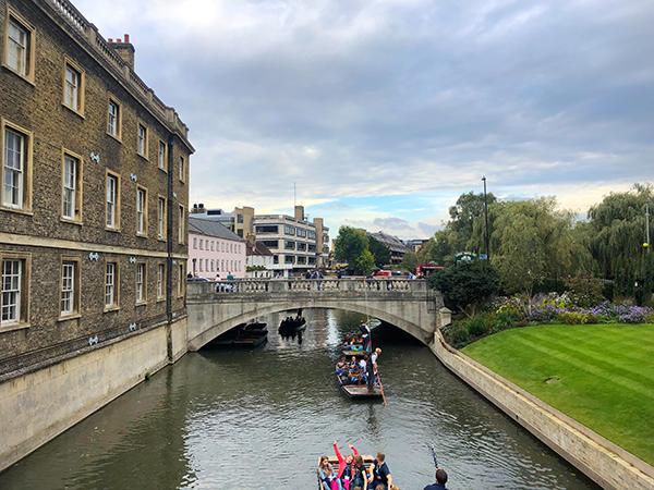 The backs Cambridge England