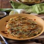 Korean vegetable pancake Pajeon