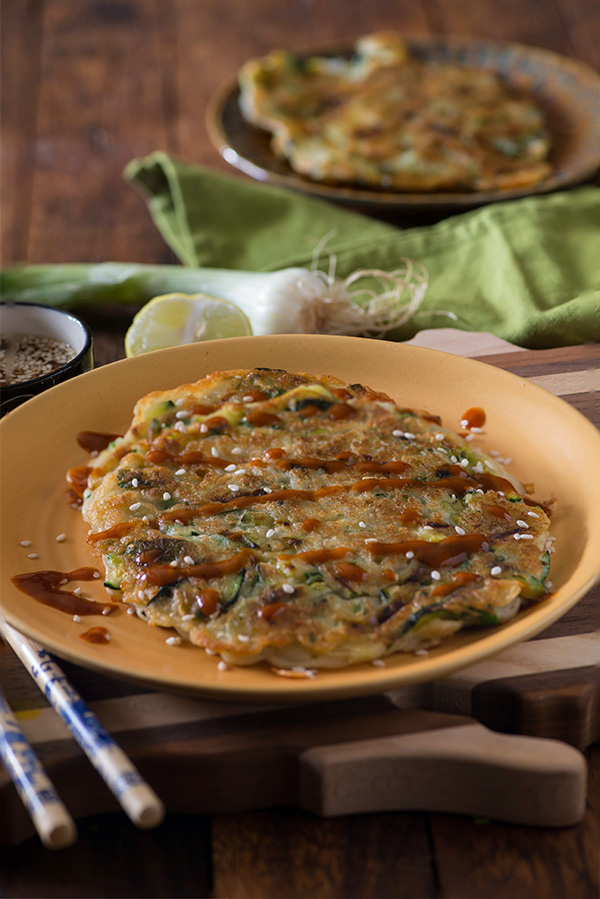Korean vegetable pancake Pajeon