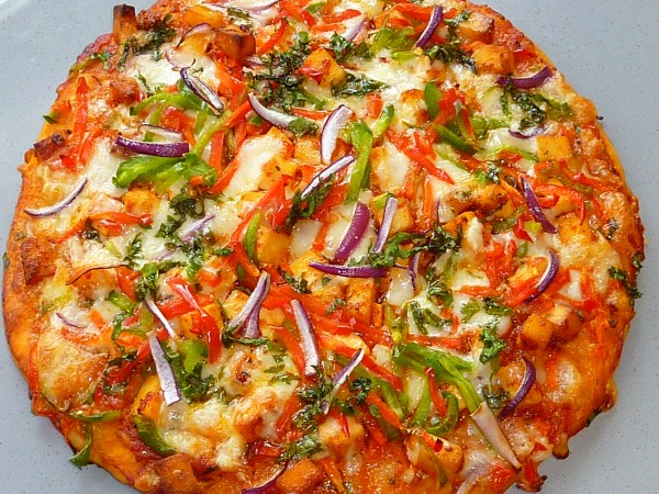 chilli panner pizza
