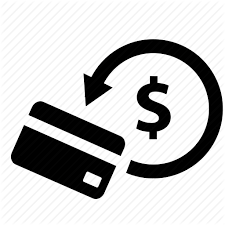 Icon displaying money back to debit card because Taxman offers instand refunds and cash back immediately to your debit card or as a cheque for youe annual income tax return with the CRA. Taxman can file your tax forms online.