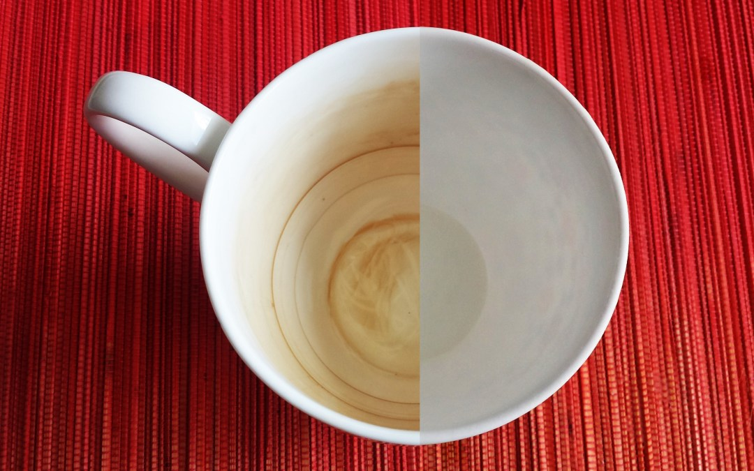 Clean your teacup with this easy trick