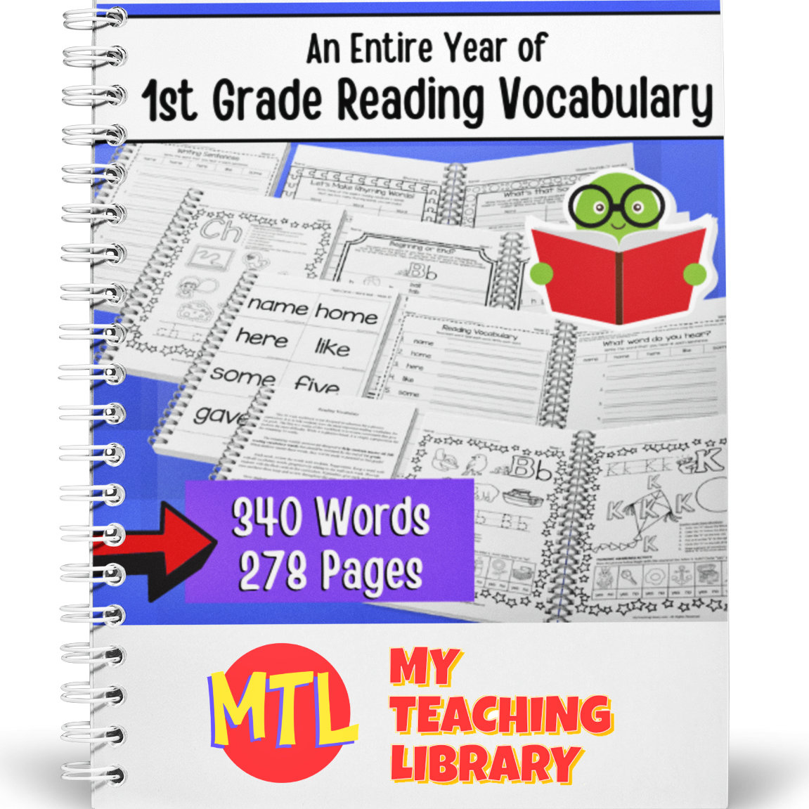hight resolution of 1st Grade Reading Vocabulary   Complete - My Teaching Library   CHSH-Teach  LLC