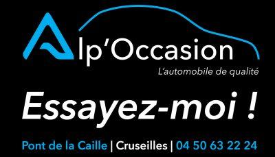 Plaque aimantée pour les véhicules en circulation et en vente chez Alp'Occasion avec l'incitation à l'essai