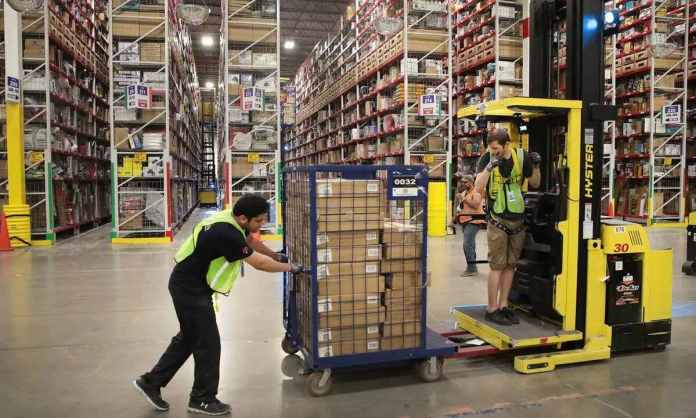 amazon warehouse automation