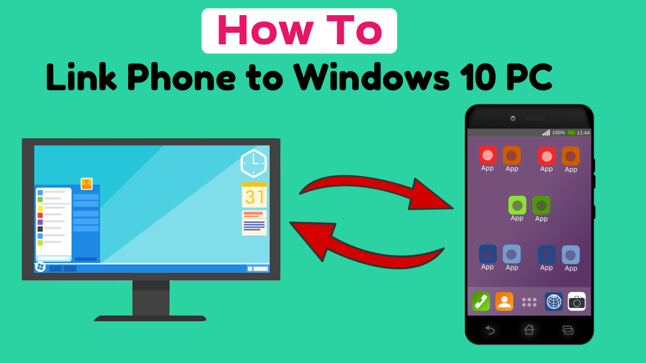 How to link an Android device to Windows 10 PC and Transfer data