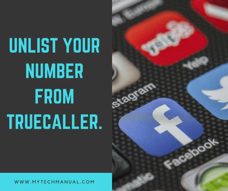 How to unlist your number from Truecaller