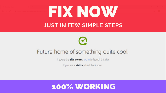 Fix Future Of Something Quite Cool