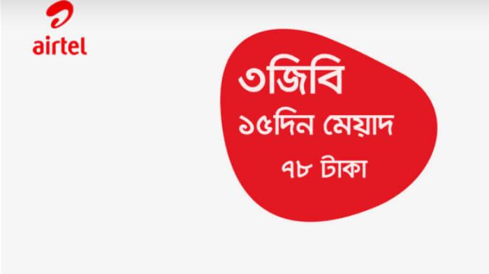 Airtel Offer 2020 (Minute, SMS & Internet Offer)