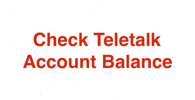 How to Check Teletalk Account Balance 2021 with MB and SMS Balance