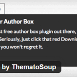 Fancier Author Box Plugins