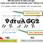 How to delete Gmail Yahoo Facebook & Twitter Account