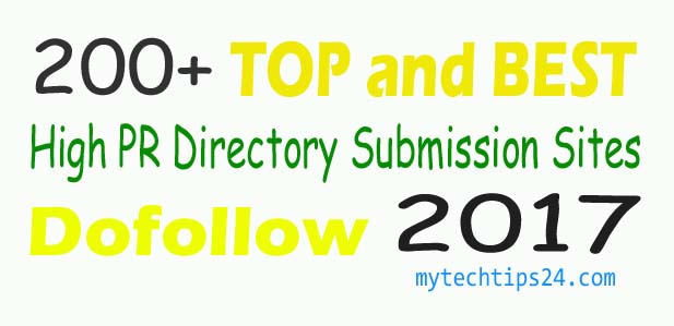 200+ High PR Directory Submission Sites List 2020 (Updated)